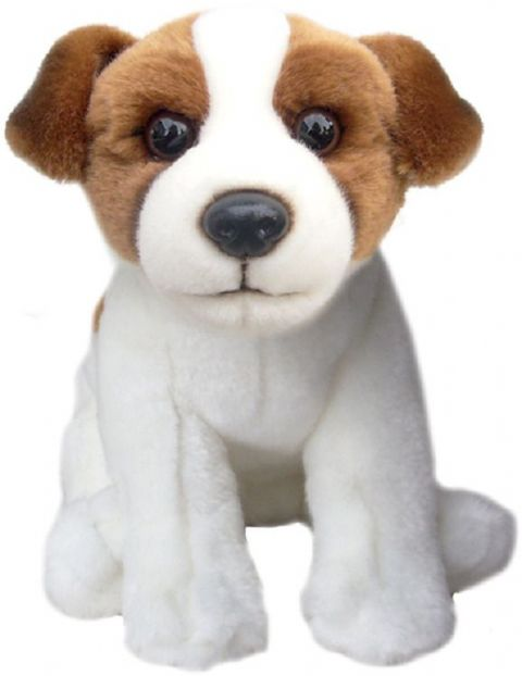 "Jack Russell Terrier Toy Dog Quality Realistic12"" Soft Toy Dog"